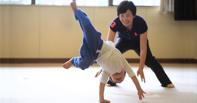 輝く笑顔の専門家 佐藤志穂 運動遊び教室